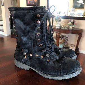 Roxy brand combat boots